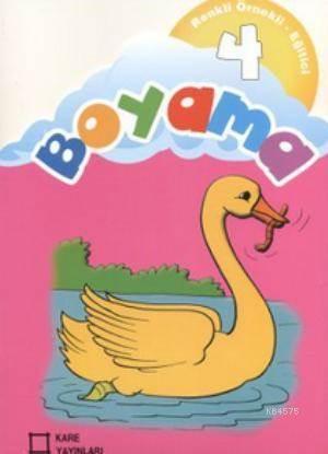 Renkli Örnekli Egitici Boyama 4