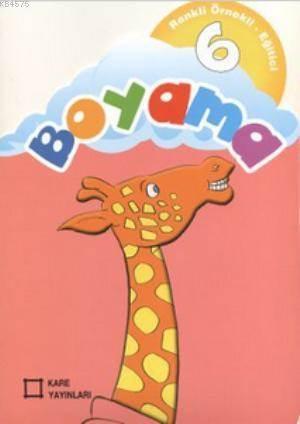 Renkli Örnekli Egitici Boyama 6