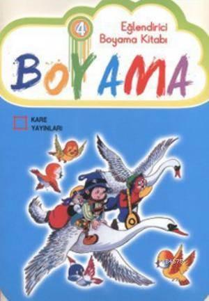 Eglendirici Boyama Kitabi 4