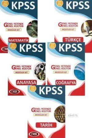 Data KPSS Genel Kültür-Genel Yetenek Modüler Set