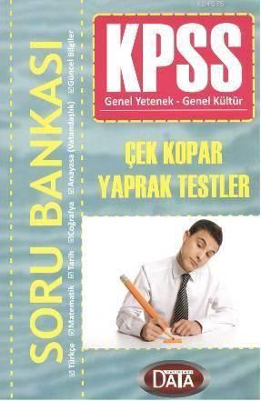 KPSS Soru Bankası; Çek Kopar Yaprak Testleri