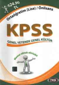 Data KPSS Genel Yetenek-Genel Kültür K.A. (Ortaöğretim (Lise) / Önlisans)