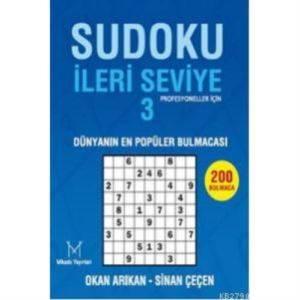 """Sudoku (İleri Seviye-3 """"Profesyoneller İçin"""")"""