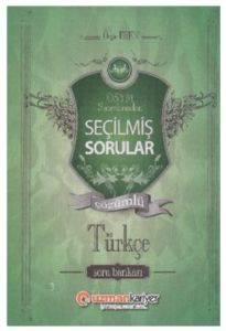 Uzman KPSS Seçilmiş Sorular Çözümlü Türkçe Soru Bankası