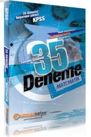2014 KPSS Matematik 35 Deneme Sınavı (Tamamı Çözümlü)