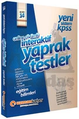 2014 KPSS Eğitim Bilimleri İnteraktif Çek Kopar Testleri