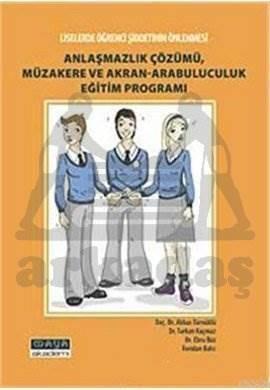 Anlaşmazlık Çöz.Müz.Akran- Arab.Eğitim Programı