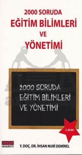 2000 Soruda Eğitim Bilimleri Ve Yönetim