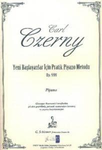 Czerny-Yeni Başlayanlar İçin Pratik Piyano Metodu Op 599 Pİyano