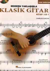 Modern Yaklaşımla Klasik Gitar Kitap/CD