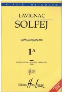 Lavignac Solfej 1/A