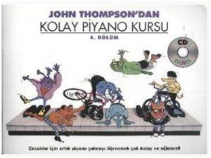 Thompson Kolay Piyano Kursu 4