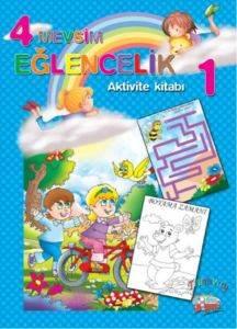 4 Mervsim Eğlencelik- Etkinlik Kitabı 1