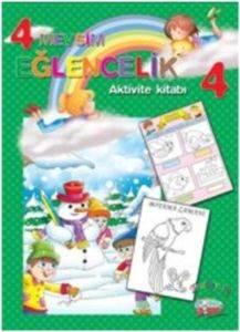 4 Mevsim Eğlencilik- Aktivite Kitabı 4