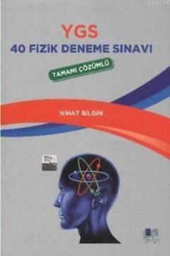 YGS 40 Fizik Deneme Sınavı Tamamı Çözümlü