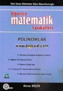 Öğreten Matematik Fasikülleri Polinomlar Konu Anlatımlı