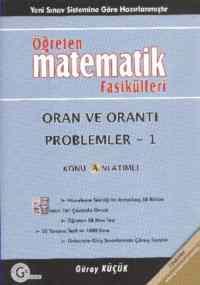 Öğreten Matematik Fasikülleri Oran Ve Orantı Problemler-1 Konu Anlatımlı