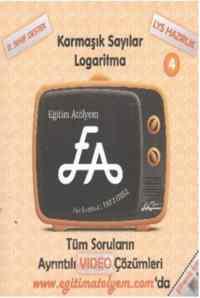 Eğitim Atölyem 11.Sınıf EA Karmaşık Sayılar Logaritma