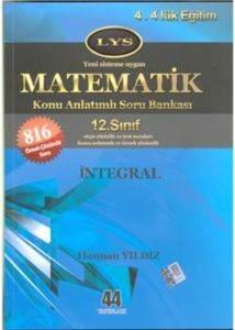 44 Yayın LYS Matematik İntegral K.A S.B