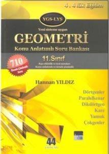 44 Yayın 11 Geometri Dörtgenler K.A S.B