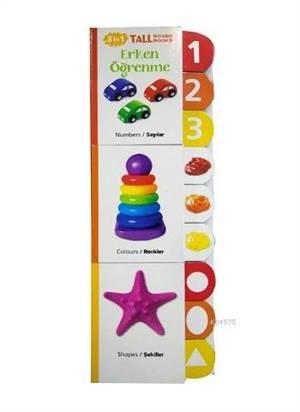 Erken Öğrenme (3 Kitap Takım); Sayılar, Renkler, Şekiller