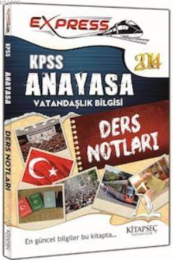 KPSS Anayasa Vatandaşlık Ders Notları