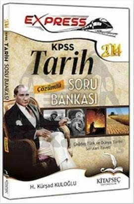 Kitapseç 2014 KPSS Express Tarih Çözümlü Soru Bankası
