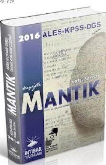 KPSS ALES DGS İçin Sözel Sayısal Mantık Kitabı