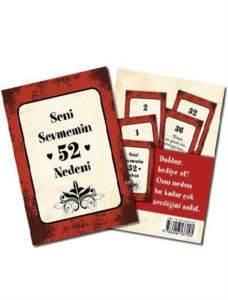 Seni Sevmemin 52 Nedeni - 52 karttan oluşan set