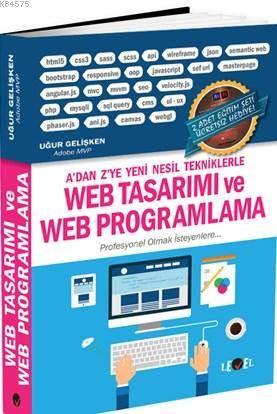 Web Tasarımı Ve Web Programlama; 2 Adet Eğitim Seti Hediyeli