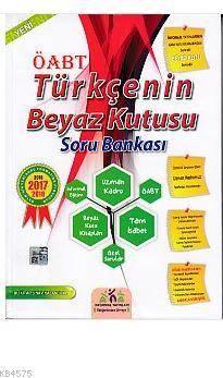 İnformal ÖABT Türkçenin Beyaz Kutusu Soru Bankası