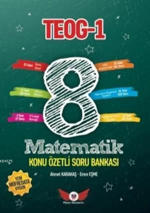 8. Sınıf Teog 1 Matematik Konu Özetli Soru Bankası