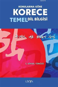 Konularına Göre Korece Temel Dil Bilgisi