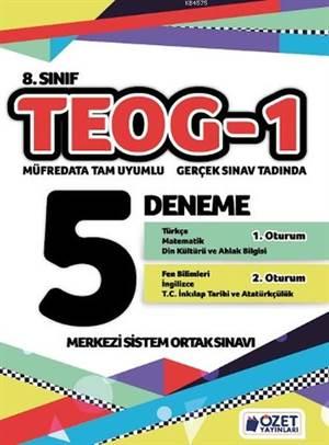 8. Sınıf TEOG 1 - 5 Deneme