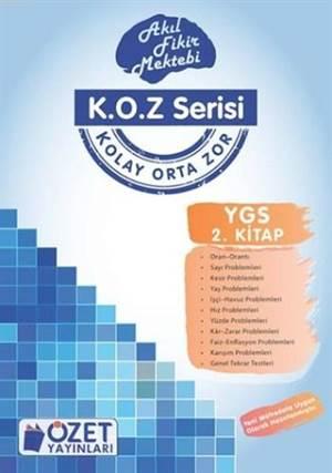 K.O.Z Serisi Ygs Matematik 2; Akıl Fikir Mektebi