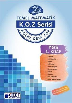 K.O.Z Serisi YGS Matematik 3; Akıl Fikir Mektebi