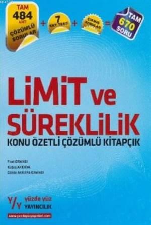 Limit Ve Süreklilik Konu Özetli Çözümlü Kitapçık
