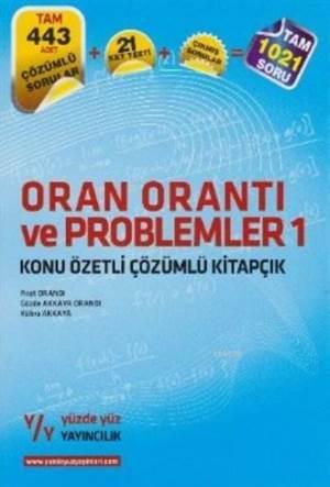 Oran Orantı Ve Problemler 1 Konu Özetli Çözümlü Kitapçık
