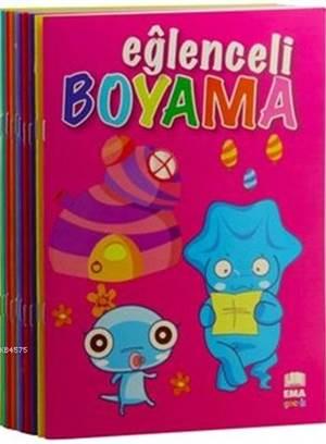 Eğlenceli Boyama; 10 Kitap Takım