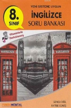 8.Sınıf İngilizce Soru Bankası