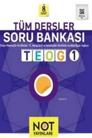 8.Sınıf Tüm Dersler Soru Bankası; Teog 1