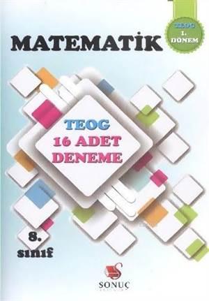 8. Sınıf Matematik TEOG 16 Deneme; 1. Dönem TEOG 16 Deneme