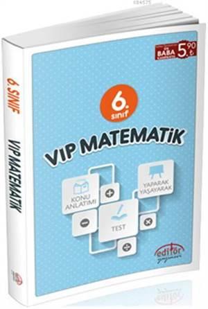 6. Sınıf Vip Matematik Konu Anlatımlı