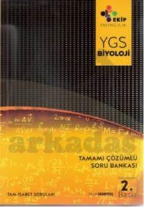 Ekip Yayınları YGS Biyoloji Tamamı Çözümlü Soru Bankası