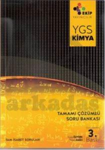 Ekip Yayınları YGS Kimya Tamamı Çözümlü Soru Bankası