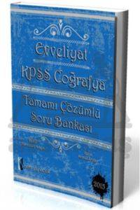 İsem Yayıncılık Evveliyat KPSS Coğrafya Tamamı Çözümlü Soru Bankası 2015