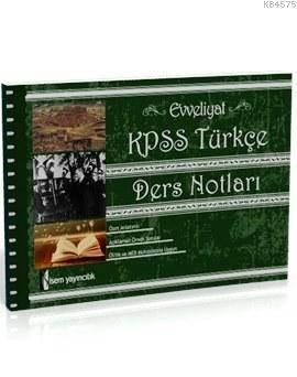 KPSS Türkçe Ders Notlari 2015