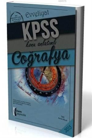 Evveliyat KPSS Coğrafya Konu Anlatımlı 2015