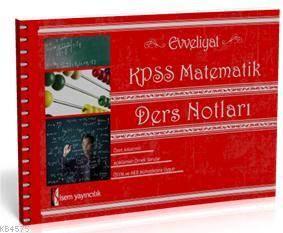KPSS Orjinal Matematik Ders Notları