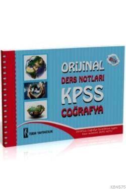 KPSS Orjinal Coğrafya Ders Notları